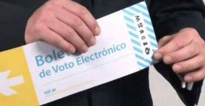 Proponen cambios para la boleta única electrónica