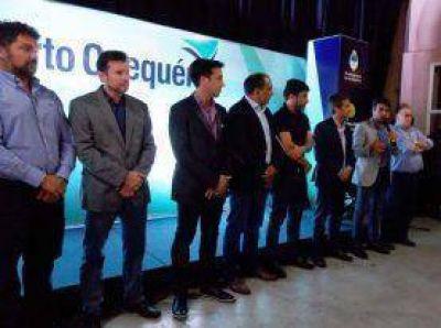 Facundo López participó del 23º aniversario de Puerto Quequén