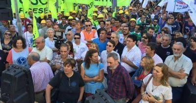 Pampeanazo contra las políticas económicas de Macri