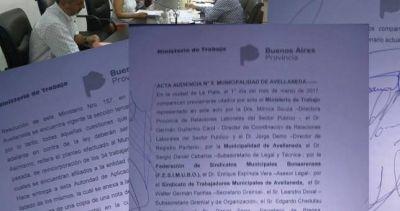 Municipales buscan la mediación de Trabajo para garantizar las paritarias en Avellaneda
