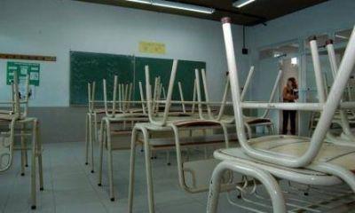 ParoDocente: Aulas vacías en las escuelas públicas y con clases en las privadas