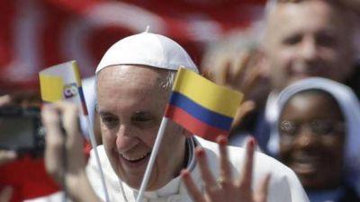 El Papa en Colombia para impulsar el proceso de paz