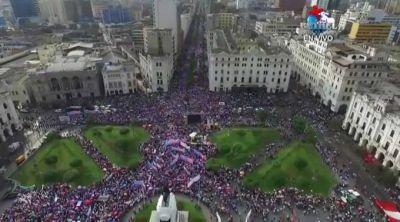 Más de un millón y medio marchan contra la ideología de género en Perú