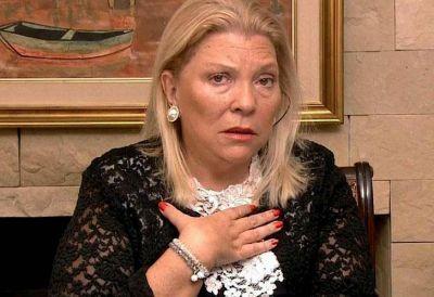 Elisa Carrió se compadeció de Florencia Kirchner: