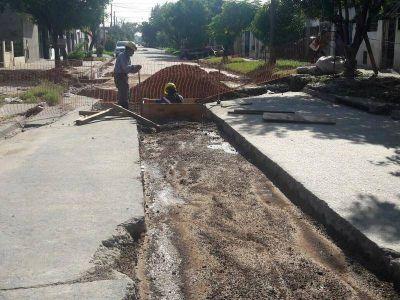 Lomas: realizan más obras hídricas para terminar con las inundaciones