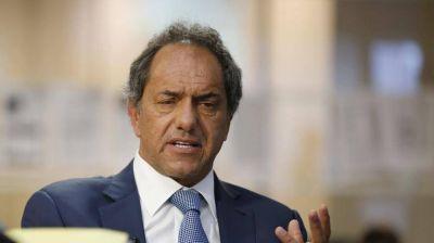 Scioli pidió que el peronismo vaya a internas y que compitan todos los candidatos