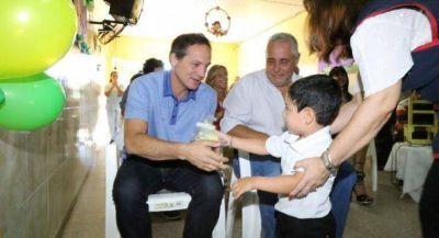 Camau y Ríos reforzaron compromiso conjunto para una mejor educación