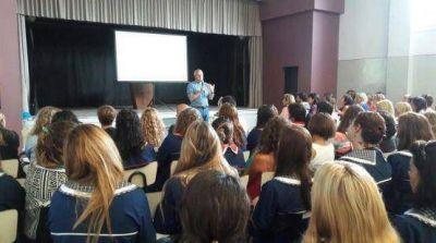 Docentes de Mar del Plata participaron de una jornada de capacitación