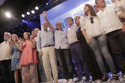 En un acto de La Bancaria, Palazzo convocó a la unidad sindical para combatir el macrismo
