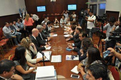 MEYER SE REUNIÓ CON DIPUTADOS PROVINCIALES PARA DETALLAR EL NUEVO SISTEMA DE SEGURIDAD