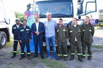 El Municipio de Escobar sumó dos nuevos camiones y 50 contenedores