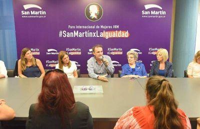 """Katopodis sobre el #8M: """"Tenemos que alcanzar una sociedad más igualitaria"""""""