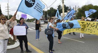 Tras el paro, la Provincia frenó el diálogo con la UEPC