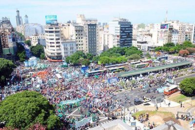 Una marcha; mil reclamos