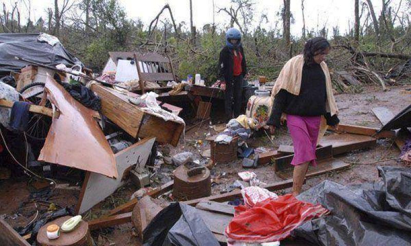Ascendió a 11 la cantidad de muertos por el tornado en Misiones