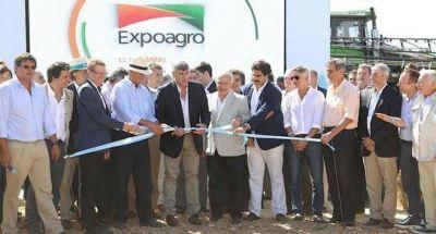 Lifschitz en la inauguración de Expoagro 2017