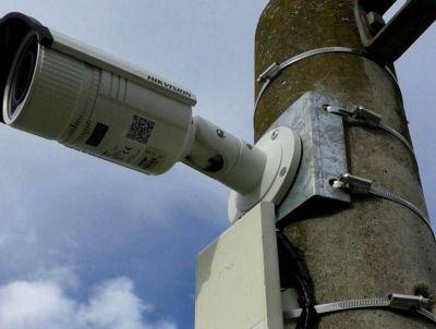 Más cajas de fibra óptica para la instalación de cámaras de seguridad en #Necochea