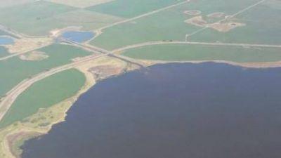 Proponen la construcción de un canal derivador de aguas desde Cuero de Zorro hasta el Canal Jauretche