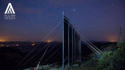 Cómo estas redes capturan la niebla y la convierten en agua potable