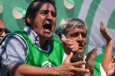 """Godoy contra la CGT: """"Muchos de los que están ahí son parte de la estrategia del gobierno"""""""