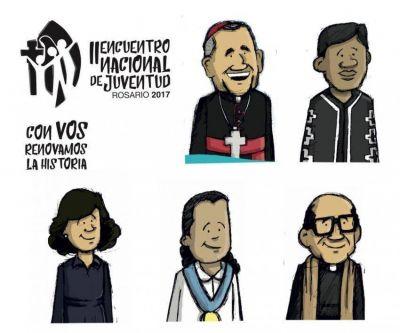 """Cinco """"Testigos de fe"""" acompañarán el II Encuentro Nacional de Juventud"""