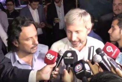 Frigerio se comprometió a invertir fondos en Salta para evitar las inundaciones