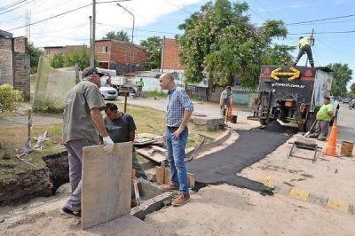 El Municipio avanza con las obras hidráulicas en Virreyes Oeste