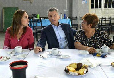 Macri compartió un encuentro con mujeres voluntarias