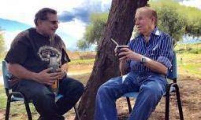 Carlos Menem buscará renovar su banca en octubre