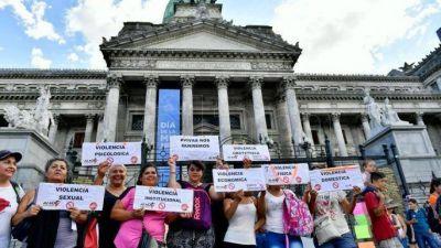 Miles de mujeres se concentraron en Plaza de Mayo