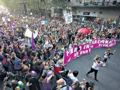 """""""El paro a Macri se lo hicimos las mujeres"""""""