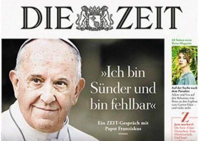 Papa Francisco: Síntesis de la entrevista concedida a Die Zeit