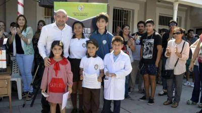 El intendente Pablo Mirolo lanzó el boleto estudiantil gratuito