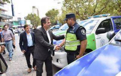 San Miguel: Ritondo entregó patrulleros y anunció llegada de más efectivos al distrito