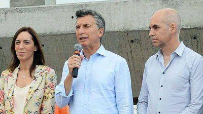Mauricio Macri, Horacio Rodríguez Larreta y María Eugenia Vidal empezaron a definir la estrategia electoral de Cambiemos