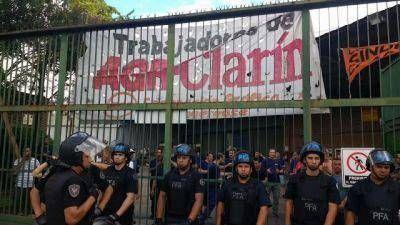 Clarín confirmó el pedido de desalojo de la planta de AGR