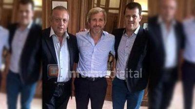 Los Troncoso se reunieron con Frigerio y aún no hay lista de candidatos