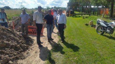 Yacyretá: comenzaron los trabajos de ampliación de la red de agua potable