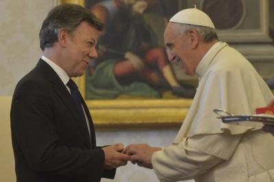Francisco afirmó que Colombia está entre sus viajes de este año