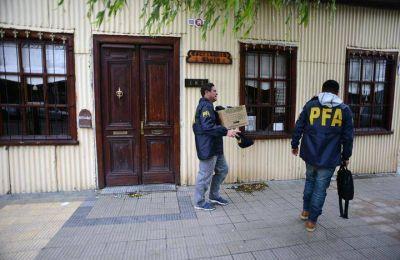 """Vuelven a allanar tres escribanías en Río Gallegos por la causa """"Los Sauces"""""""