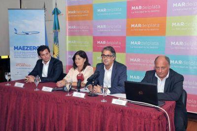 """Aerolíneas Argentinas presentó el """"Corredor Atlántico"""""""