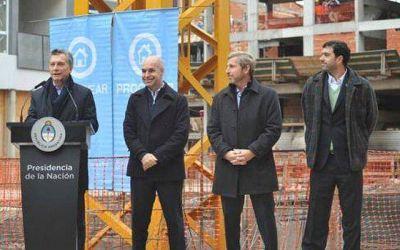 Mauricio Macri encabeza el relanzamiento del Plan Procrear