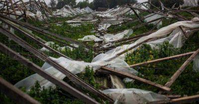 """Frutihortícolas: """"El Estado no está preparado para asistir en emergencias"""""""