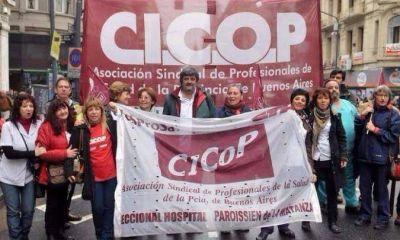 Los médicos también le paran a Vidal y prometen una movilización masiva en La Plata