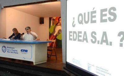 Asamblea de usuarios eléctricos en el Sindicato de Luz y Fuerza Mar del Plata