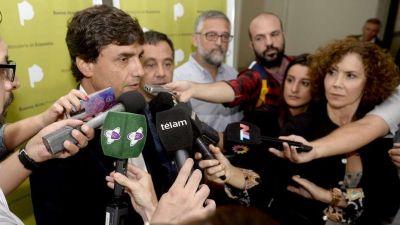 Para el Gobierno de Vidal, los gremios docentes