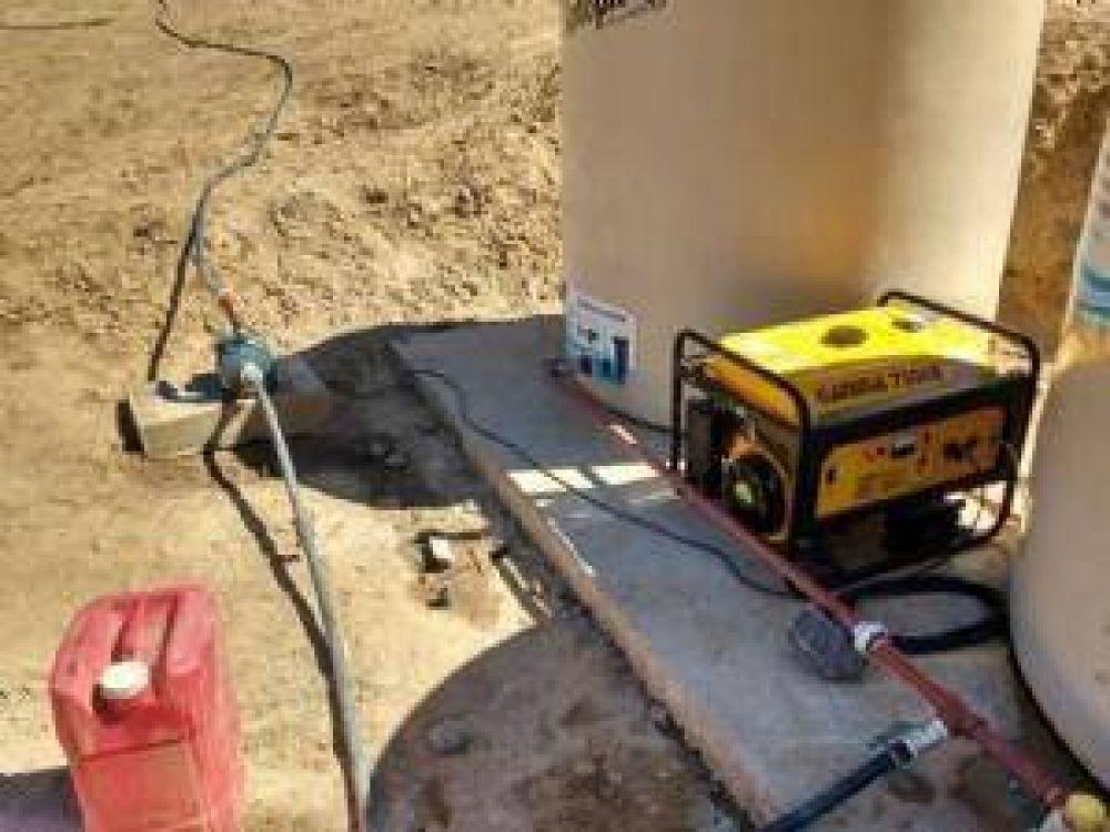 Aclaran que en Casas Viejas se restableció el servicio de agua potable