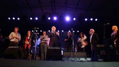 Lifschitz participó de la 1ª Fiesta Nacional de la Música de la Costa Santafesina