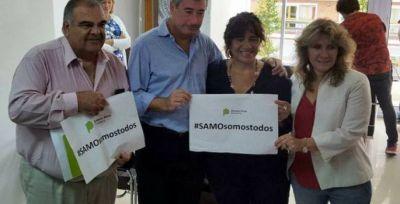Ortíz y Lordén visitaron el Sindicato de Salud para la firma de convenio por el SAMO