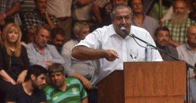 Histórico: Daer enfrentó a la CGT con el peronismo